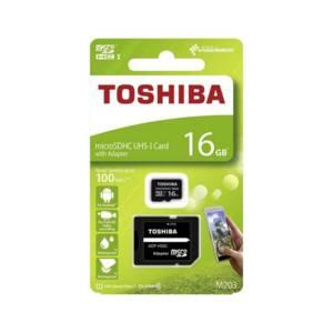 Карта памет Toshiba M203 MICRO SD 16GB CLASS 10 UHS-I U1 100MB